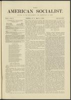 American socialist, vol. 01, no. 06 (May 4, 1876)