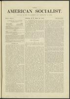 American socialist, vol. 01, no. 09 (May 25, 1876)