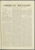 American socialist, vol. 01, no. 10 (June 1, 1876)