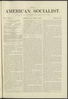 American socialist, vol. 01, no. 11 (June 8, 1876)