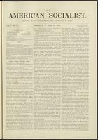 American socialist, vol. 01, no. 12 (June 15, 1876)