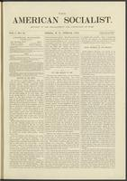 American socialist, vol. 01, no. 13 (June 22, 1876)