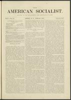 American socialist, vol. 01, no. 14 (June 29, 1876)