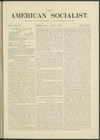 American socialist, vol. 01, no. 15 (July 6, 1876)