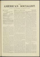 American socialist, vol. 01, no. 18 (July 27, 1876)