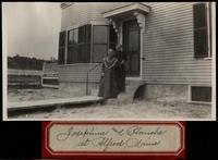 Josephine and Blanche at Alfred, Maine