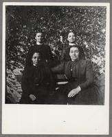 Mary Frances Dahm, Frieda Sipple, Eva Larkin, and Grace M. Dahm