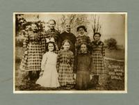 Eldress Anna Case, Marion, Pauline, Mary and Grace Dahm, and Susan- From Watervliet, NY