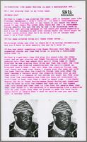 Sun Ra research, supplement (undated)