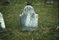 Peter Lehman's grave marker at Snow Hill Cloister