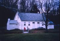 Exterior view of church at Snow Hill Cloister