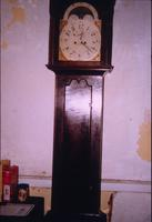 Jacob Wolf Grandfather Clock in room at Snow Hill Cloister