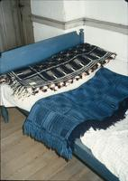 Coverlets on bed in room at Snow Hill Cloister