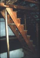 Stairs in attic at Snow Hill Cloister