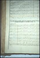 Crist King's copy of manuscript hymnal Paradisisches Wunderspiel at Snow Hill Cloister