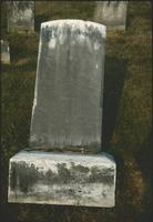 Obed Snowberger's grave marker at Snow Hill Cloister