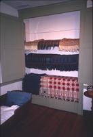Coverlets in cupboard at Snow Hill Cloister