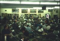 People gathered for auction in Horst Auction House at Ephrata, Pa.