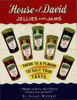 House of David jellies and jams [front]
