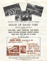 Square dances at the House of David Park [back]