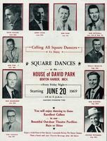 Calling all square dancers to enjoy square dances at the House of David Park, Benton Harbor, Mich. [front]