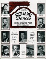 Plan now to enjoy the square dances at the House of David Park, Benton Harbor, Mich. [front]