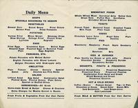Eden Springs Vegetarian Restaurant menu [back]