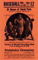 House of David Traveling Club vs. Studebaker Champions [front]