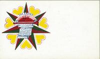Ticket with House of David ensign [front]