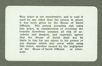 House of David Park 195 season pass [back]