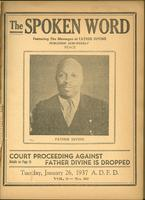 Spoken word, vol. 03, no. 29 (January 26, 1937)