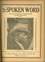 Spoken word, vol. 03, no. 33 (February 09, 1937)