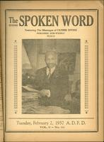 Spoken word, vol. 03, no. 31 (February 02, 1937)