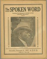 Spoken word, vol. 03, no. 32 (February 06, 1937)