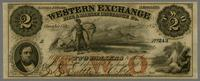 Western Exchange Fire & Marine Insurance Co. Two Dollars