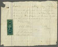 Promissory note to Nilson Multer from Eric Norberg, Olof Olson, Andrew Norberg, E.P. Lindwall, and John Soderstrom
