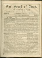 Sword of truth and harbinger of peace, vol. 02, no. 10 (September 1, 1864)