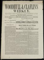 Woodhull & Claflin's Weekly., vol. 03, no. 03 (June 3, 1871)