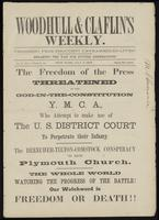 Woodhull & Claflin's Weekly., vol. 06, no. 05 (July 5, 1873)