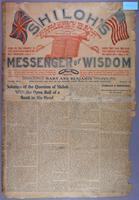 Shiloh's messenger of wisdom (copy 2), vol. 01, no. 01 (May 1903)