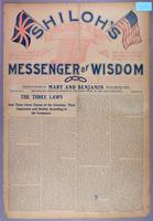 Shiloh's messenger of wisdom (copy 2), vol. 01, no. 05 (September 1903)
