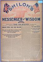 Shiloh's messenger of wisdom (copy 2), vol. 01, no. 06 (October 1903)