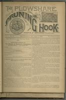 Plowshare and pruning hook: indicator of commercial equation, vol. 01, no. 02 (June 1, 1891)