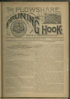 Plowshare and pruning hook: indicator of commercial equation, vol. 01, no. 03 (June 6, 1891)
