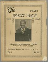 New day, vol. 01, no. 20 (August 5, 1937)