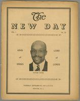 New day, vol. 01, no. 25 (September 9, 1937)
