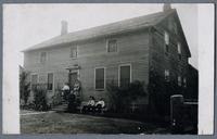Schaedlich Kitchen House at Homestead, ca. 1910 [front]