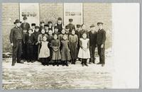 Public school, Homestead, Iowa [front]