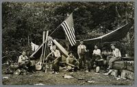 Amana men on outing, c. 1910