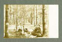 Eichacker family picnic in Amana Picnic Grove [front]